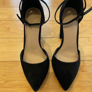 ASOS Wide Fit Penalty Pointed High Heels